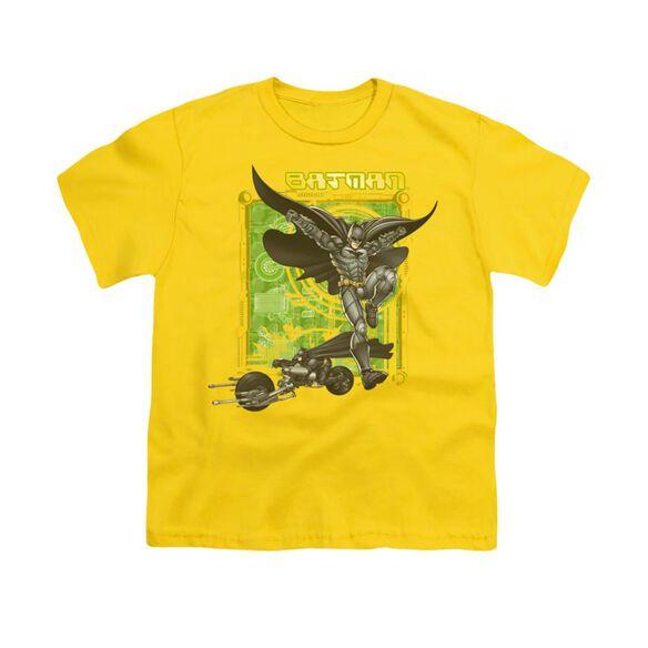 Dark Knight Hi Tech Gear Short Sleeve Youth T-Shirt