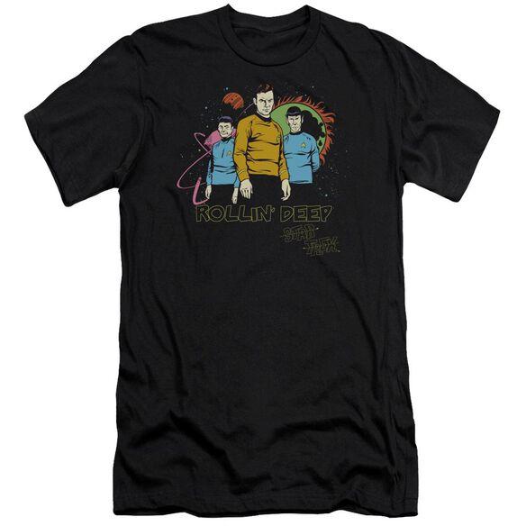 Star Trek Rollin Deep Short Sleeve Adult T-Shirt