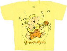 Dennis the Menace Guitar Juvenile T-Shirt