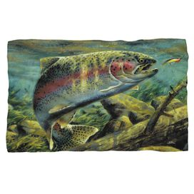 Wild Wings Rainbow Trout 2 Woven Throw