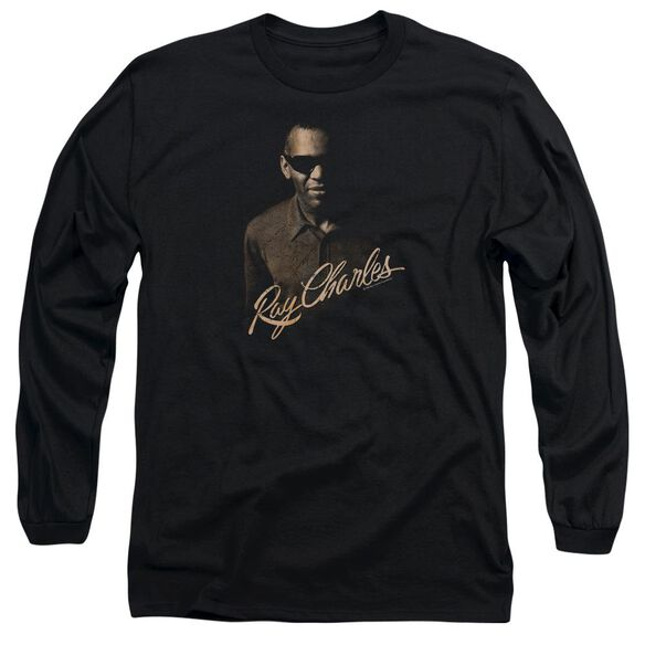 Ray Charles The Deep Long Sleeve Adult T-Shirt