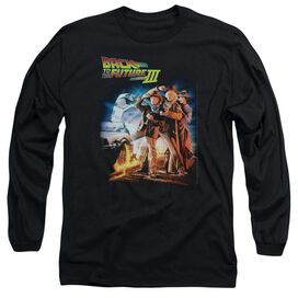 Back To The Future Iii Poster Long Sleeve Adult T-Shirt