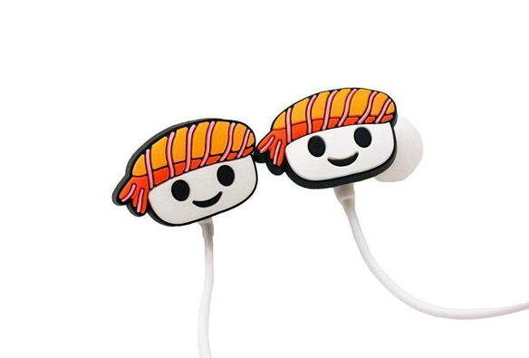 Sushi Earbuds with microphone
