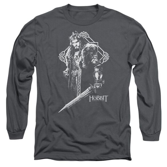 Hobbit King Thorin Long Sleeve Adult T-Shirt
