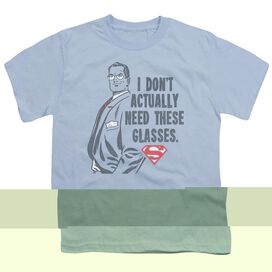 SUPERMAN DONT NEED GLASSES - S/S YOUTH 18/1 - T-Shirt