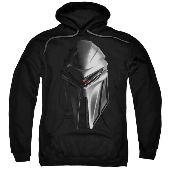 Bsg Cylon Head Adult Pull Over Hoodie Black