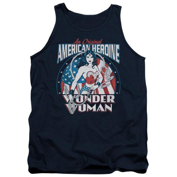 Dc American Heroine Adult Tank