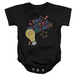 Electric Company Electric Light Infant Snapsuit Black