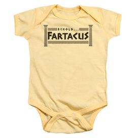 Fartacus Infant Snapsuit Banana Md