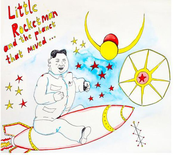 Rapoon - Little Rocketman And The Planet That Moved