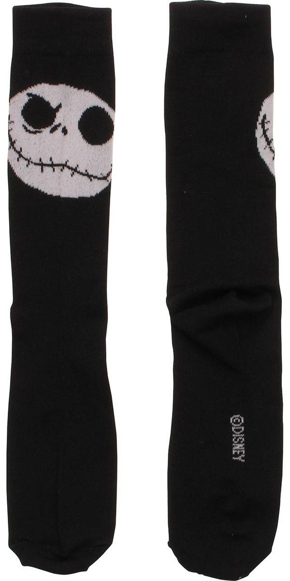 Nightmare Before Christmas Jack Head Crew Socks | FYE