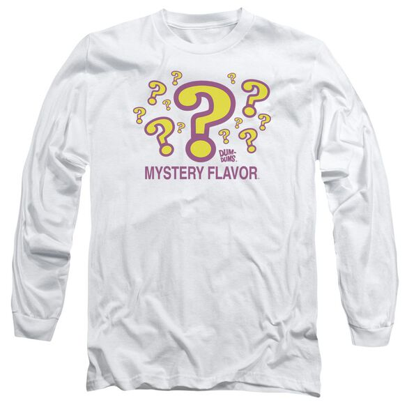 Dum Dums Mystery Flavor Long Sleeve Adult T-Shirt