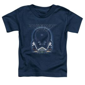 Journey Frontiers Cover Short Sleeve Toddler Tee Navy T-Shirt