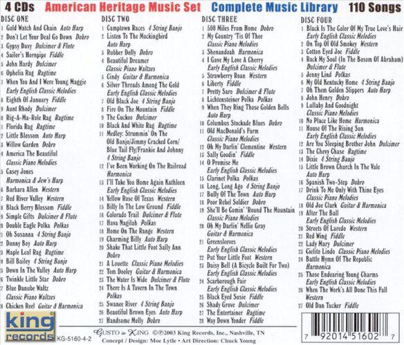American Heritage Music Set / Various (Box)