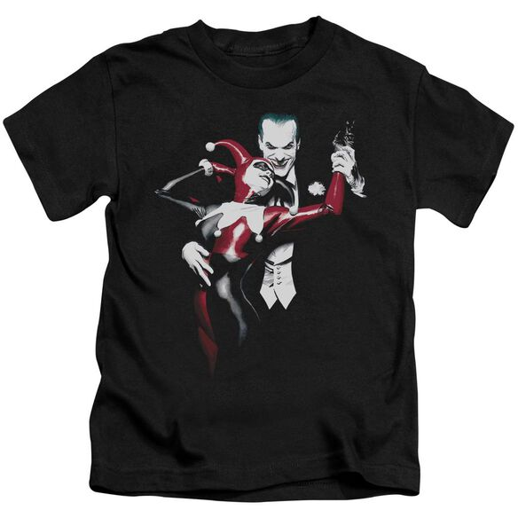Batman Harley And Joker Short Sleeve Juvenile Black Md T-Shirt