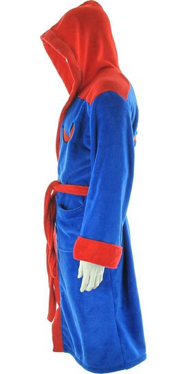 Spiderman Eyes Spider Fleece Robe