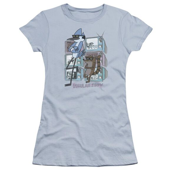 Regular Show Tv Too Cool Hbo Short Sleeve Junior Sheer Light T-Shirt