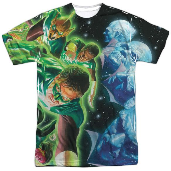 Green Lantern Guardians Short Sleeve Adult 100% Poly Crew T-Shirt