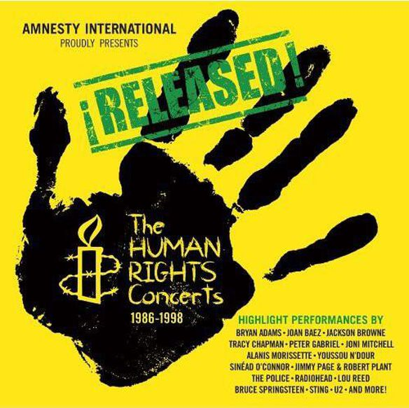 Various Artists - Human Rights Concerts 1986-1998 / Various