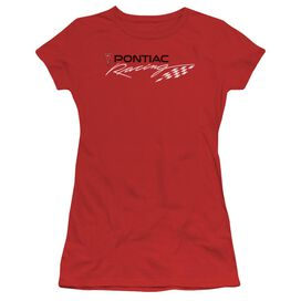 Pontiac Pontiac Racing Short Sleeve Junior Sheer T-Shirt