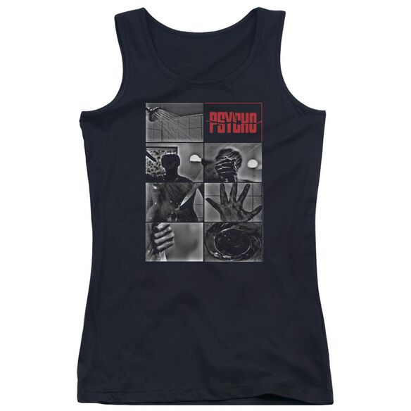 Psycho Shower Scene Juniors Tank Top