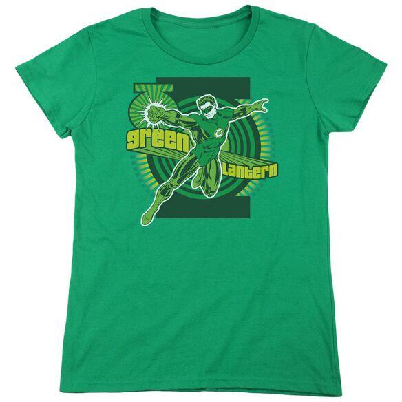 Dc Lantern Short Sleeve Womens Tee Kelly T-Shirt
