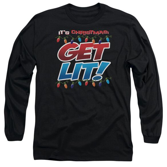 Get Lit Long Sleeve Adult T-Shirt