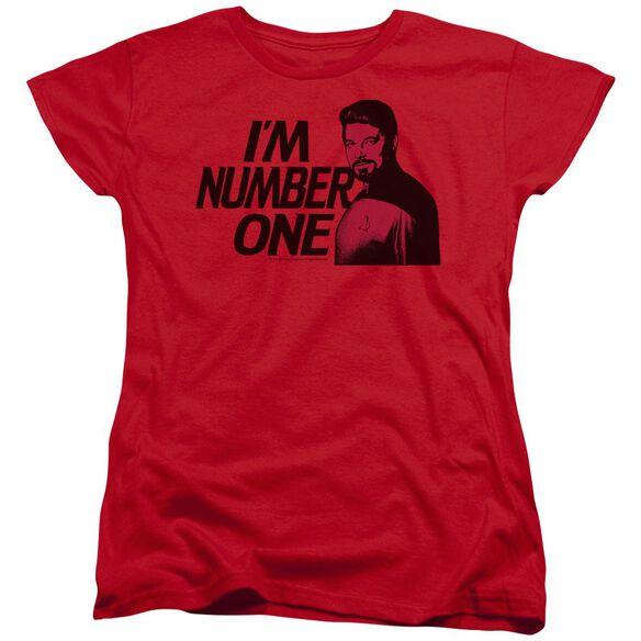 Star Trek Im Number One Short Sleeve Womens Tee T-Shirt