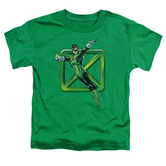 Dco Green Cross Short Sleeve Toddler Tee Kelly Green Sm T-Shirt