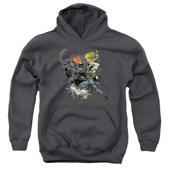 Dark Knight Rises Fight For Gotham Youth Pull Over Hoodie