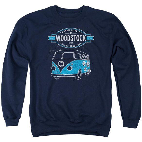 Woodstock Van Adult Crewneck Sweatshirt
