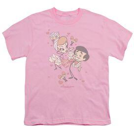 I Love Lucy Rumba Dance Short Sleeve Youth T-Shirt