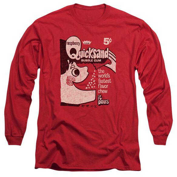 Dubble Bubble Quicksand Long Sleeve Adult T-Shirt