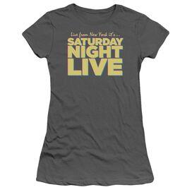 Snl Live From Ny Short Sleeve Junior Sheer T-Shirt