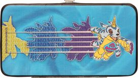 Digimon Gabumon Rush Clutch Wallet