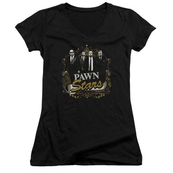 Pawn Stars Deal Junior V Neck T-Shirt