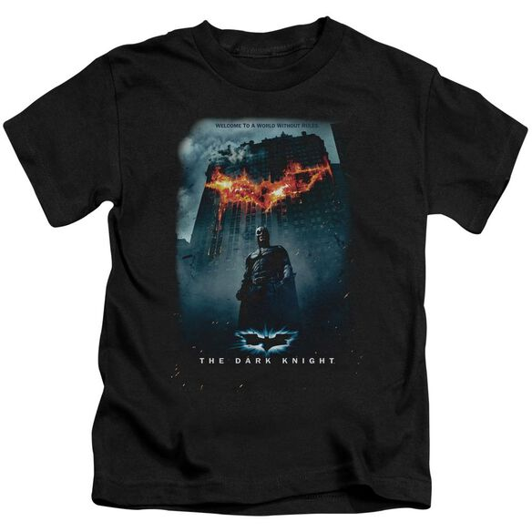 Dark Knight Without Rules Poster Short Sleeve Juvenile T-Shirt