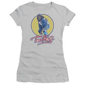 Teen Wolf Rockin Teen Wolf Short Sleeve Junior Sheer T-Shirt