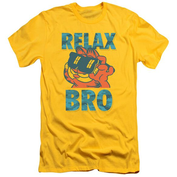 Garfield Relax Bro Short Sleeve Adult T-Shirt