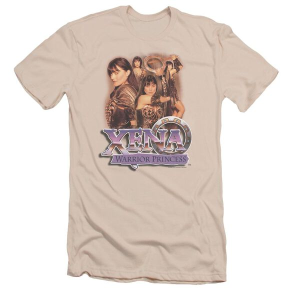 Xena Princess Collage Short Sleeve Adult T-Shirt