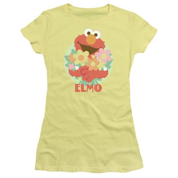 Sesame Street Flowers For You Premium Bella Junior Sheer Jersey