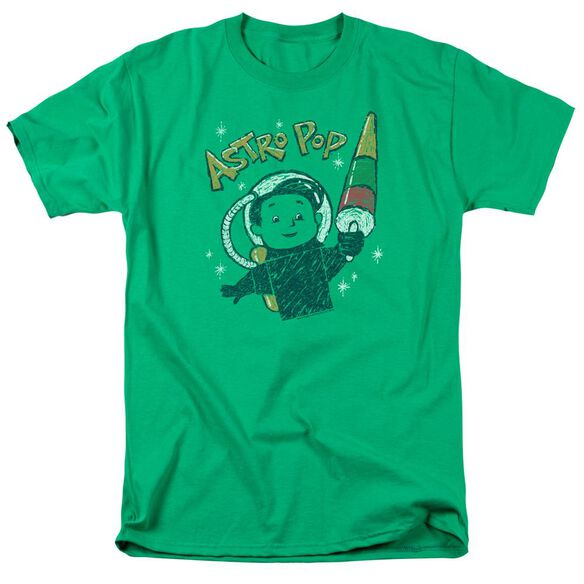 Astro Pop Astro Boy Short Sleeve Adult Kelly T-Shirt