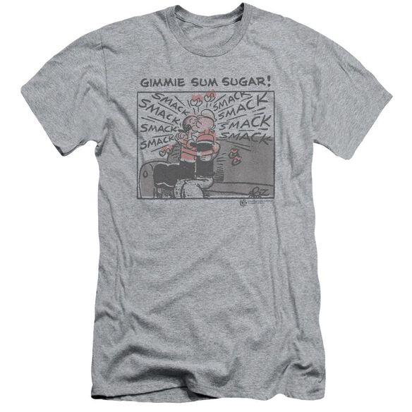 Popeye Sweet Love Short Sleeve Adult Athletic T-Shirt