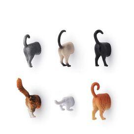 Kikkerland Magnets Cat Butts