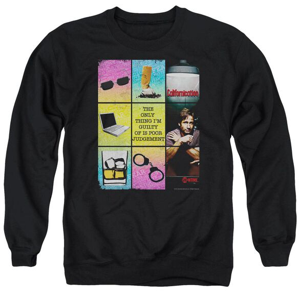Californication Poor Judgement Adult Crewneck Sweatshirt