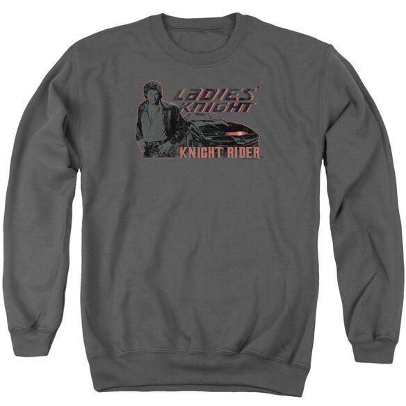 Knight Rider Ladies Knight Adult Crewneck Sweatshirt