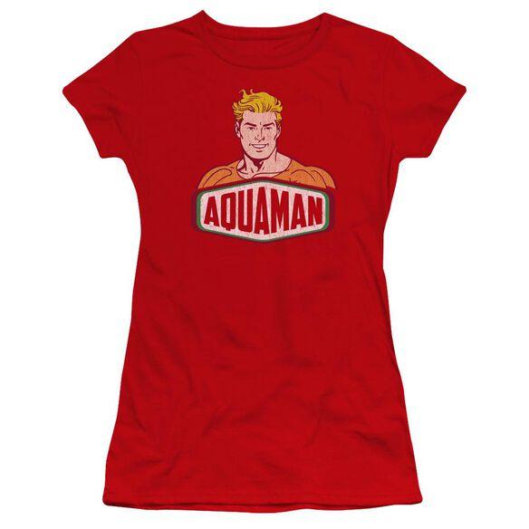 Dco Aquaman Sign Premium Bella Junior Sheer Jersey
