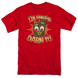 Gumby Darn It Short Sleeve Adult T-Shirt