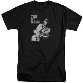 Stevie Ray Vaughan Live Alive Short Sleeve Adult Tall T-Shirt