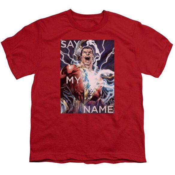 Jla Say My Name Short Sleeve Youth T-Shirt